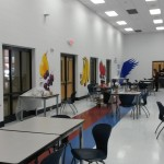 EHHS Cafeteria makeover.  Funded through the CDC 1305 grant