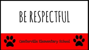 be-respectful sign