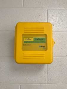Stock epipens installed in every school.  Funded through the epipens4schools grant program