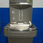 Water bottle filling stations.  Funded through CDC grant.