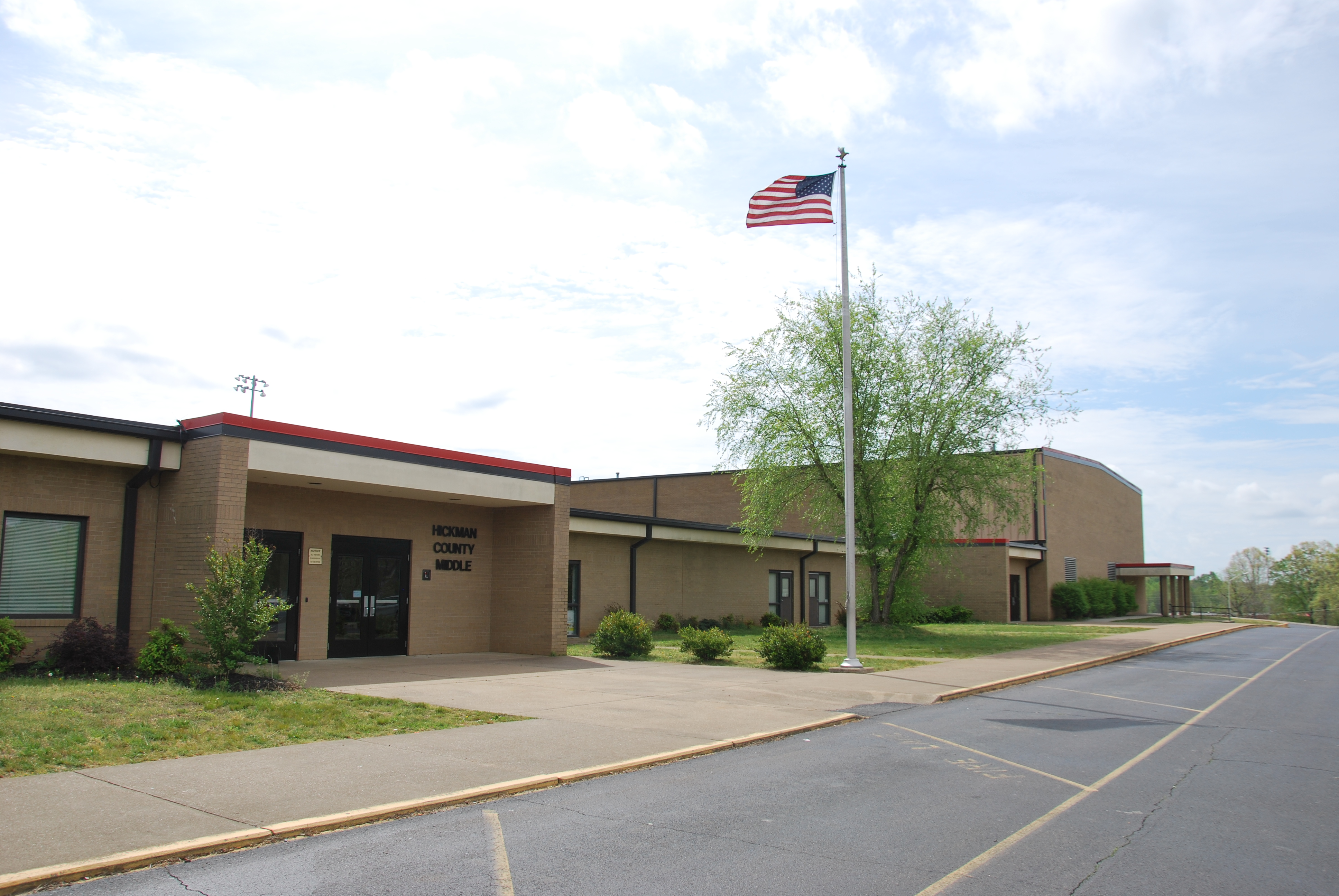 A picture of Hickman County Middle School.