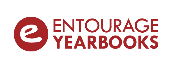 This is a picture that says ``Entourage Yearbooks``.